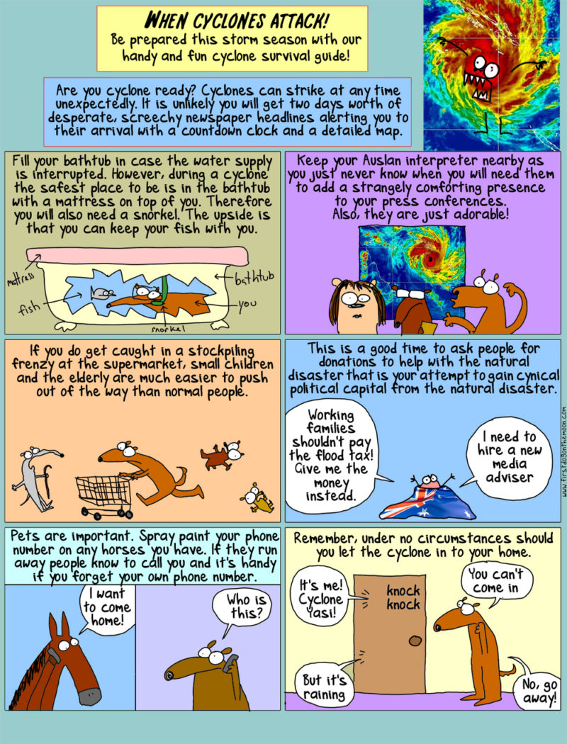 Natural Disasters and You! A Crikey Guide