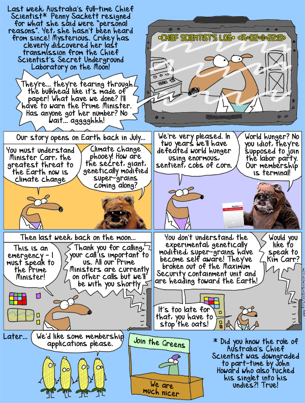 Australia's Chief Scientist: What really happened!