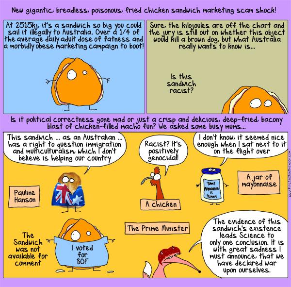 Mayonnaise and capitalism: a cartoon…