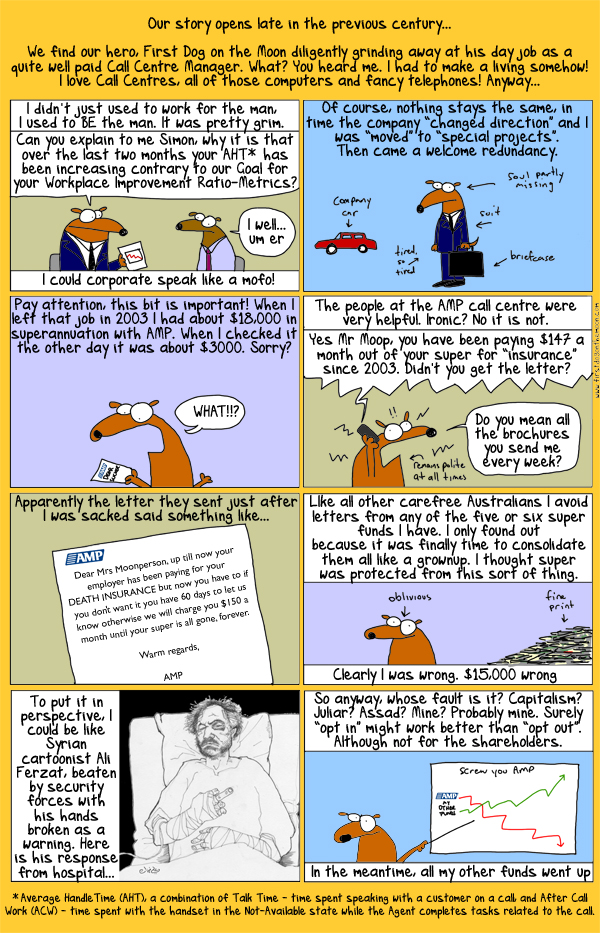 Superannuation: is it your friend? A First Dog expose.