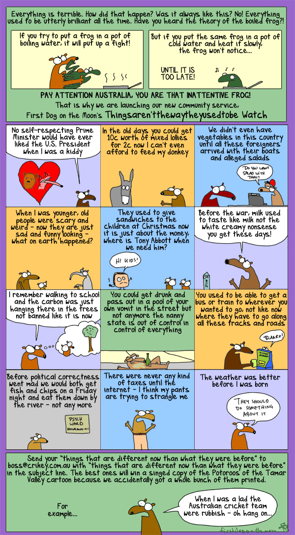 Australia: Is it an inattentive frog?