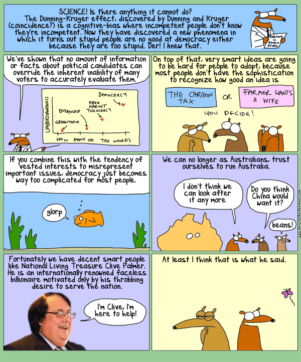 Australia: are we too stupid to live in it?