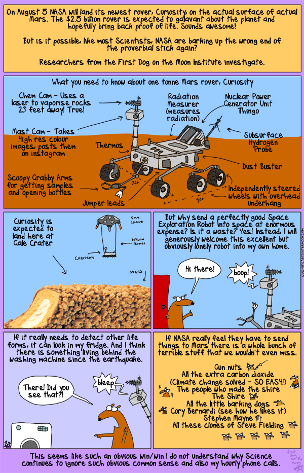 Mars! Why is it so dusty and what are we doing about it?