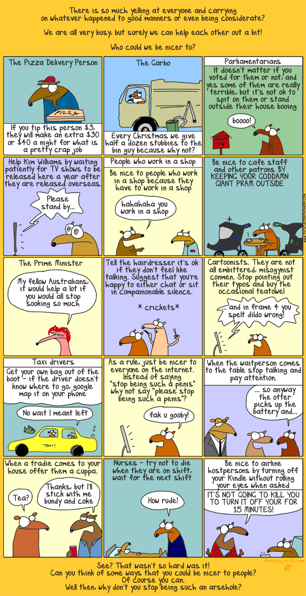 First Dog on the Moon's guide to an even nicer Australia!