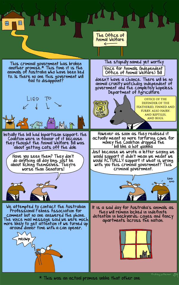 Why cats should have to work for the dole like the rest of us!