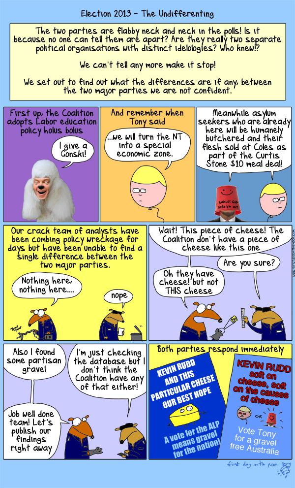 Cheese or Gravel: Australia decides!