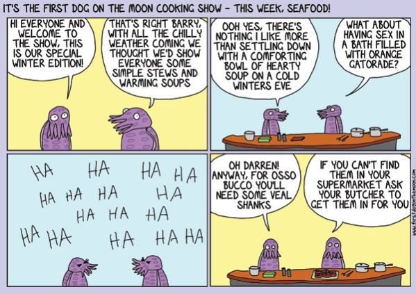 The First Dog On The Moon CookingShow