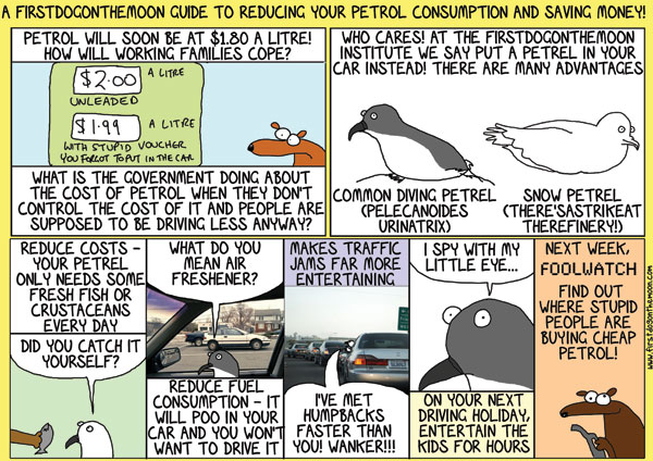 A guide to reducing your petrolconsumption…