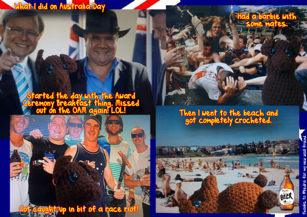 What I did on AustraliaDay…