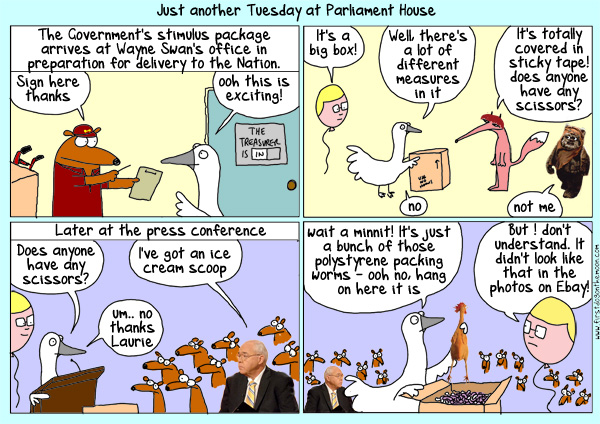Just another Tuesday at ParliamentHouse