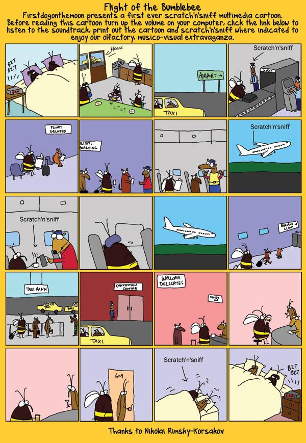 First ever scratch 'n' sniff multimediacartoon…