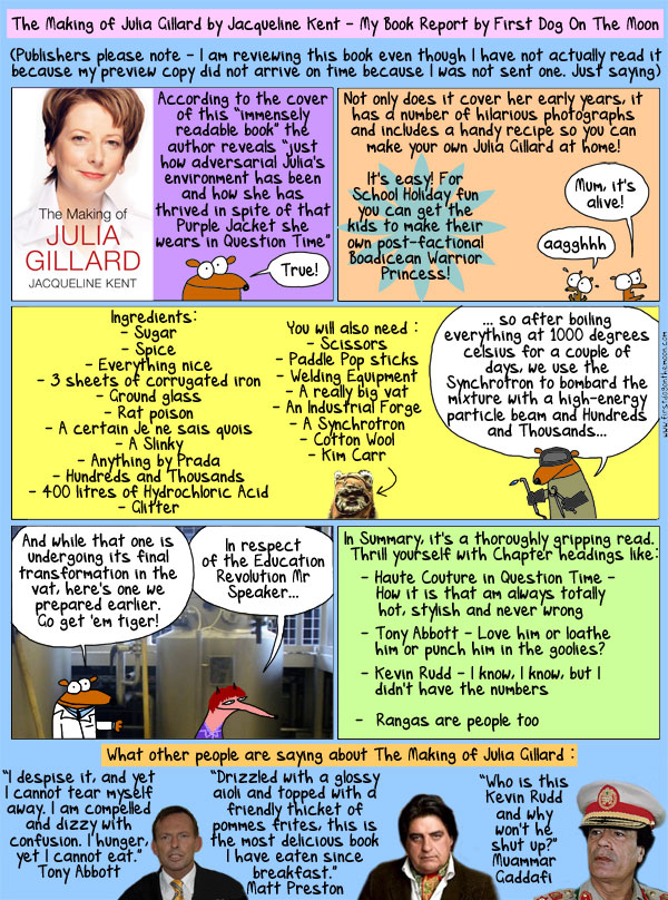 The Making of Julia Gillard byFirstdogonthemoon