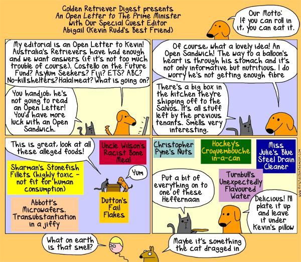 Golden Retriever Digest proudlypresents…