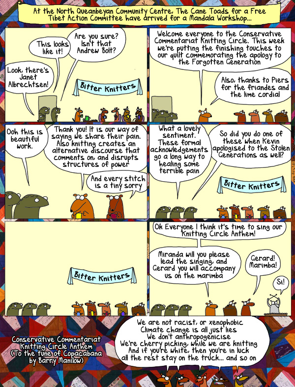 The Conservative Commentariat KnittingCircle