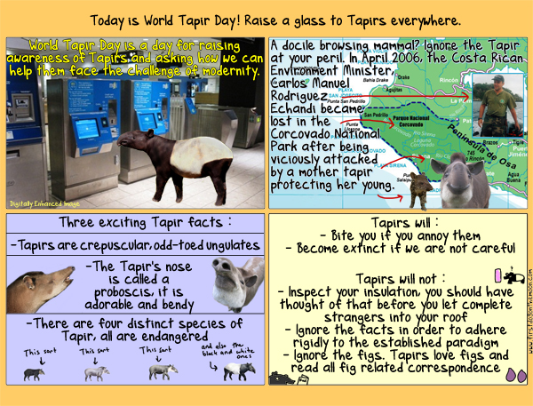 Today is World TapirDay!