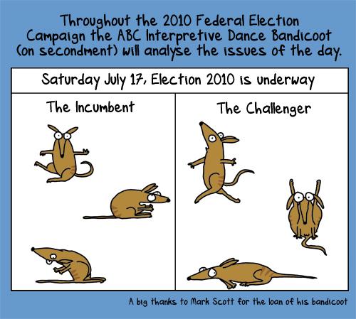 Day 0: election 2010 isunderway