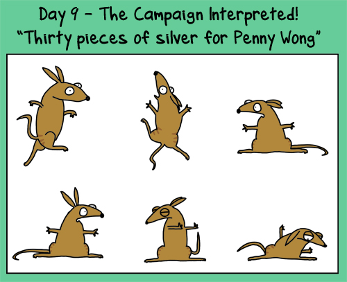 Day 9: thirty pieces of silver for PennyWong