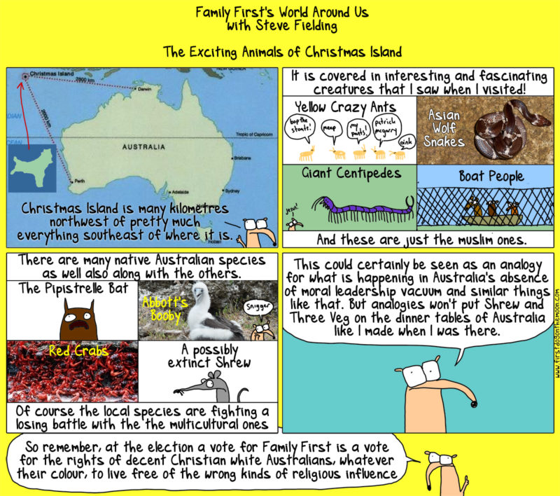 Christmas Island is not just forChristmas