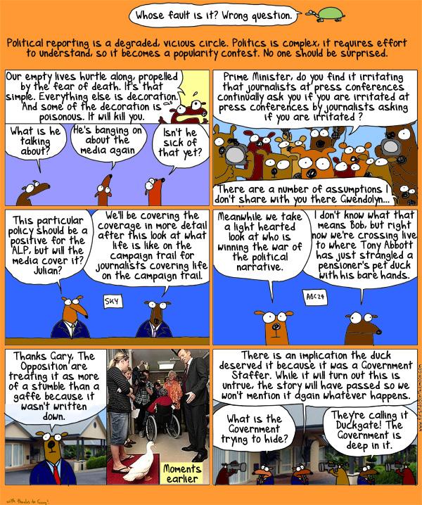 Quacksy vs. TheMan
