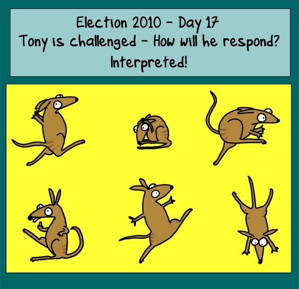 Day 17: Tony ischallenged