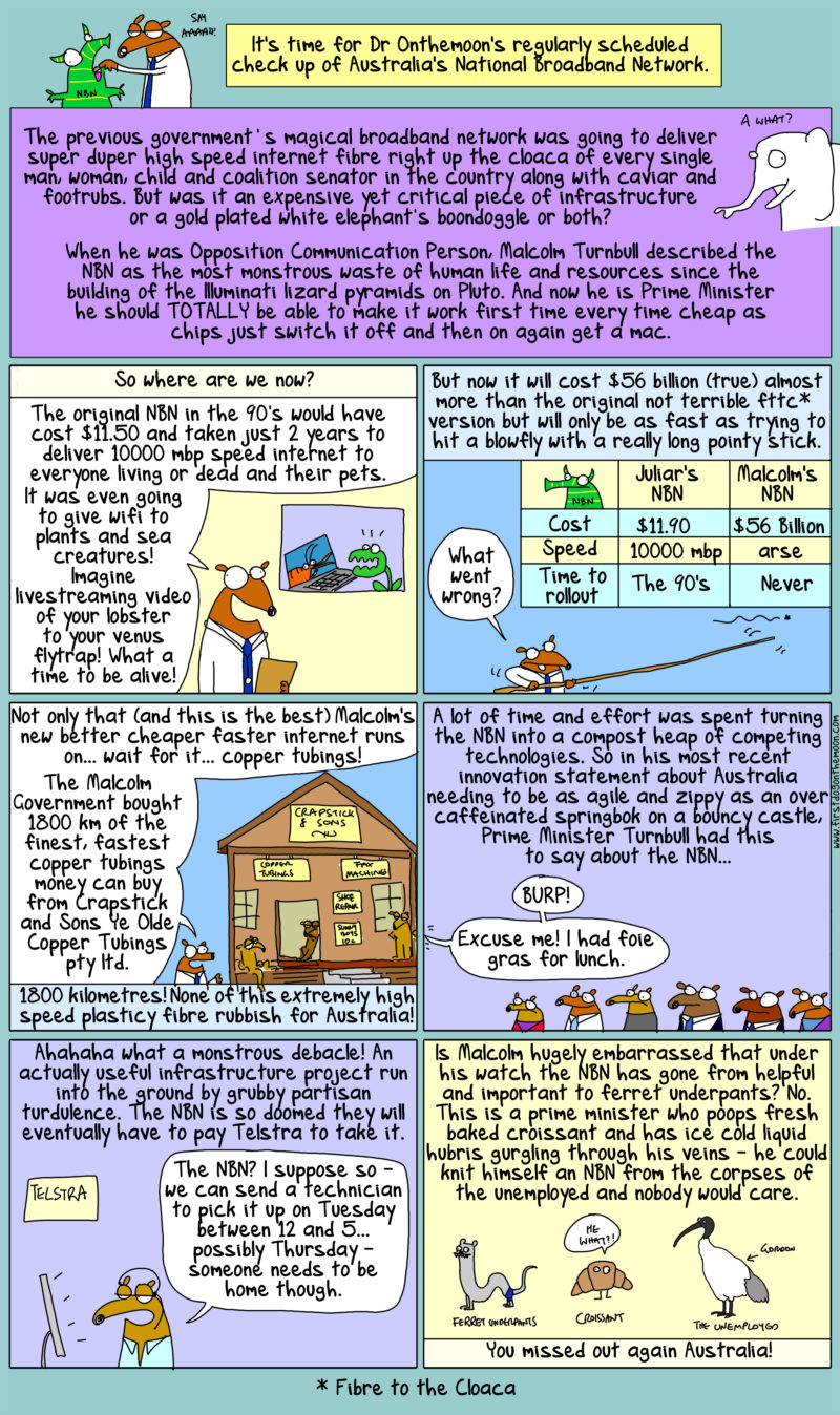 The NBN is bad