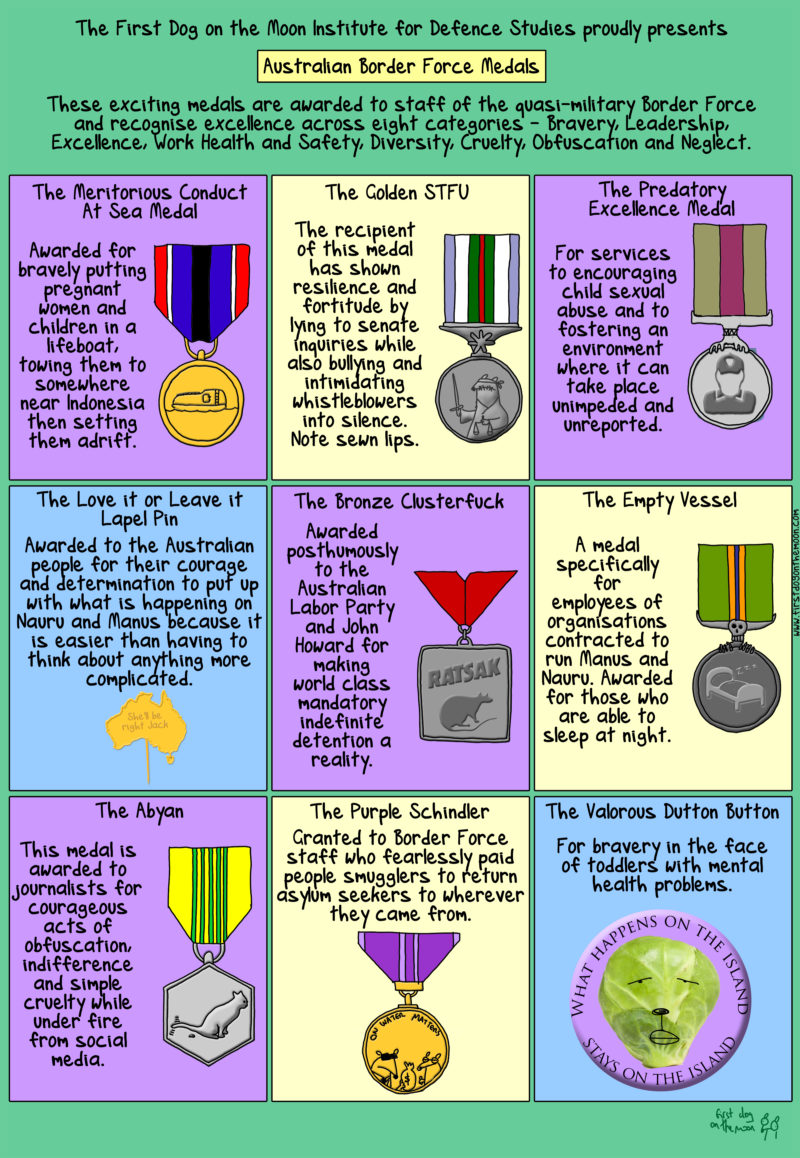 Border Force Medals