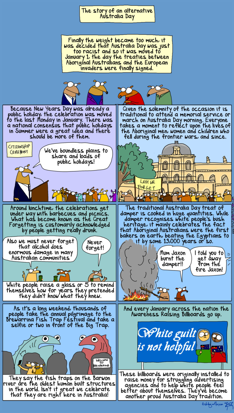 the great australian forgetting