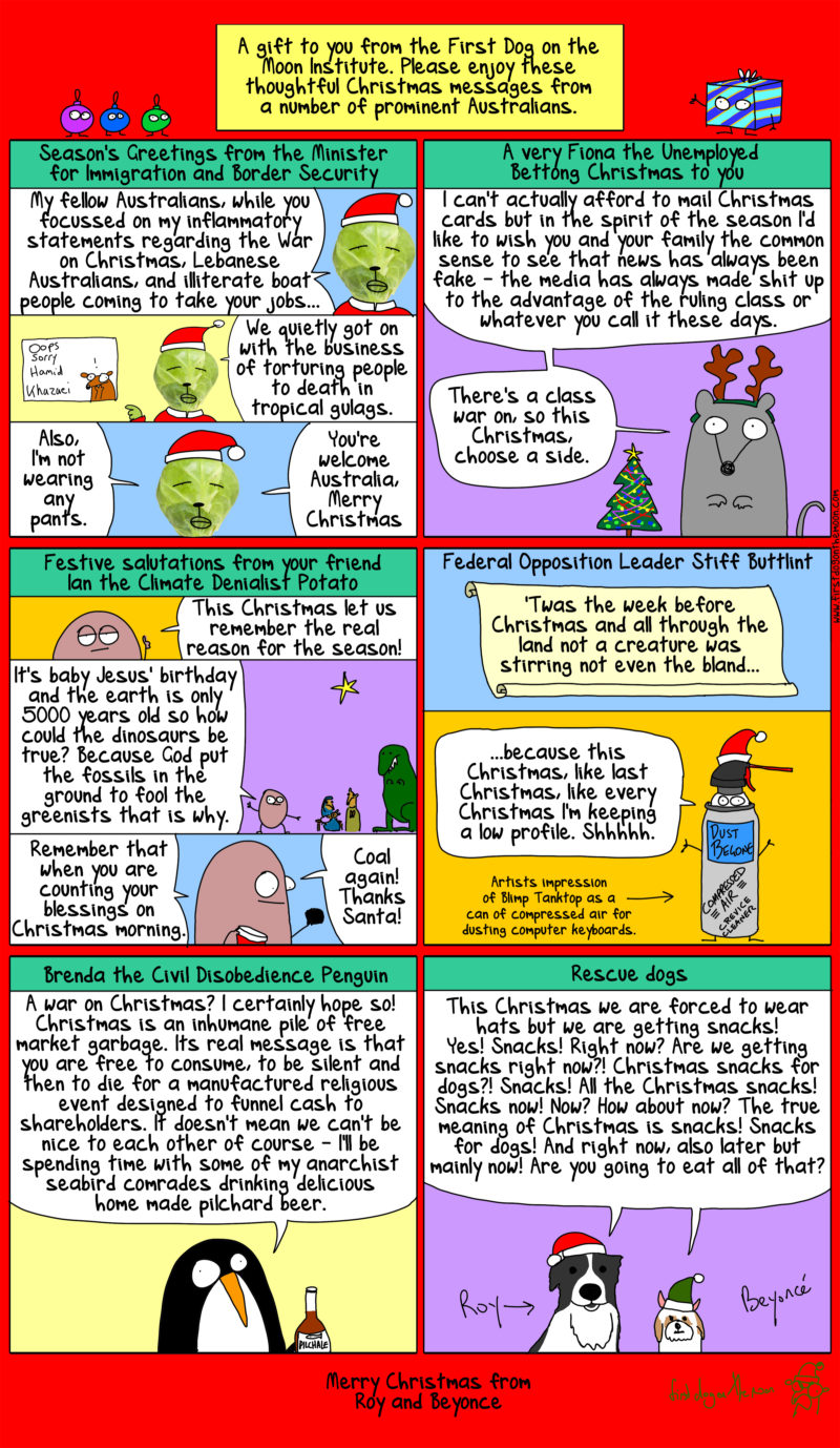 christmas messages from prominent aussies