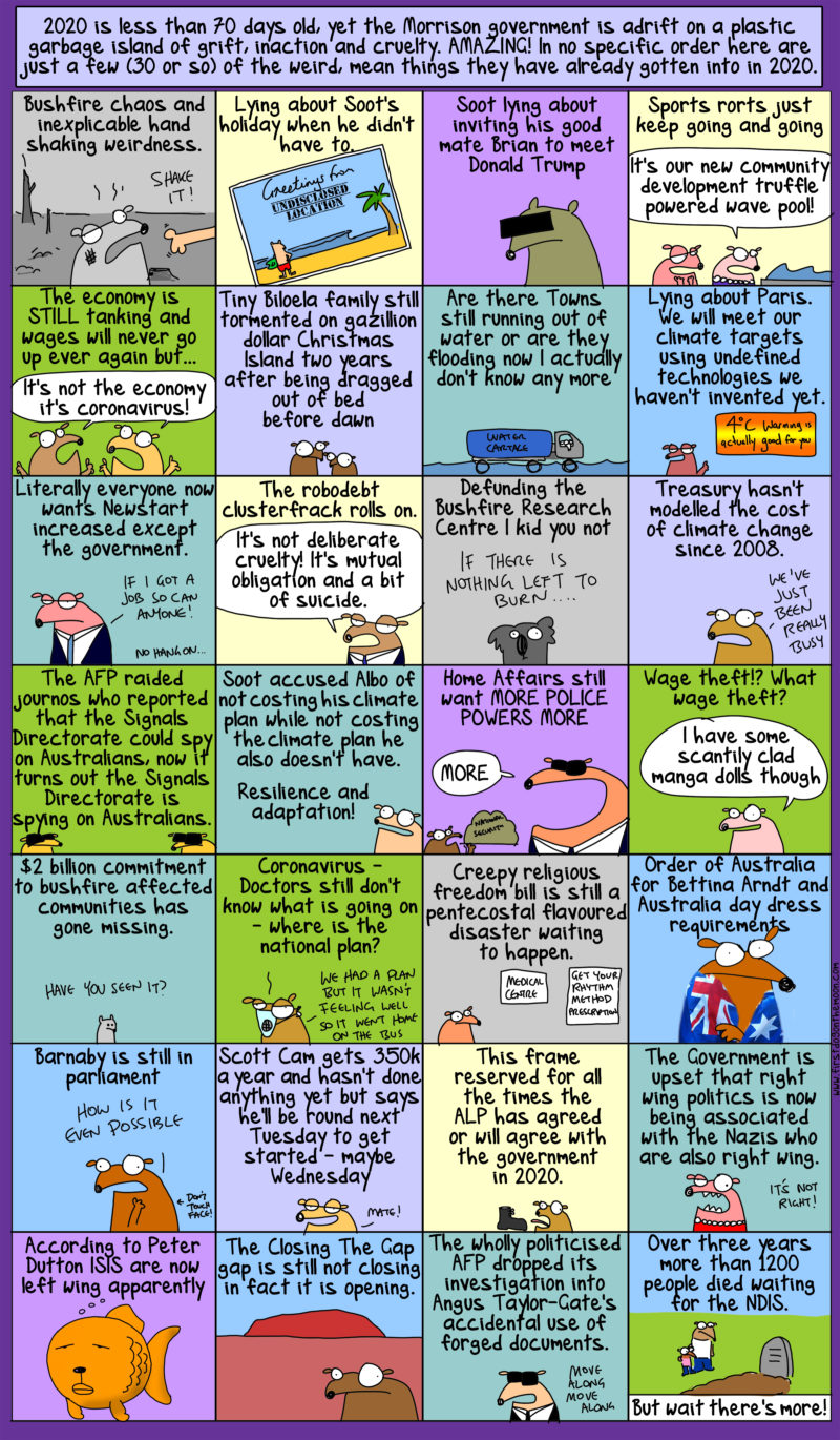 the weird, mean things the Morrison government has got into